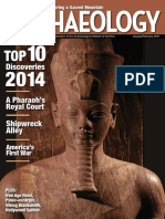 01. Archaeology - January, February 2015