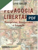 GALLO, Silvio. Pedagogia libertária.pdf