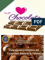 Tratamiento enzimático del Chocolate