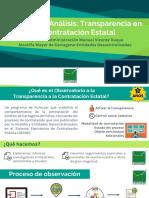 [RESUMEN] Informe de Análisis Transparencia en La Contratación Estatal Año 2016 Administración Manuel Vicente Duque