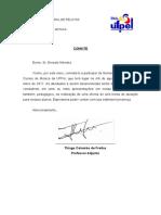 Carta Convite Ernesto
