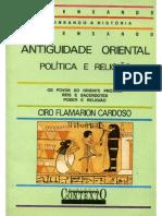 CARDOSO, Ciro Flamarion. Antiguidade Oriental, politica e religião.pdf