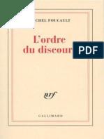 Foucault Michel L Ordre Du Discours 2012