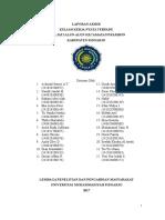 Laporan Akhir KKn-T Jati Alun-Alun 2017