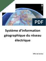Cartographie Du Réseau Électrique SONELGAZ