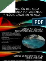Contaminación Del Agua Subterránea Por Arsénico y Flúor