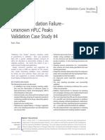 Validation Case Study