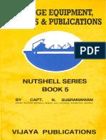 Bridge Equipment, Charts & Publications