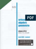 Matematica - Clasa a 5-A - Mate 2000 Standard L. Pitu