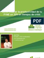 Cómo Mejorar La Productividad de Tu PYME