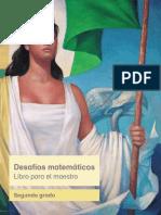 Primaria Segundo Grado Desafios Matematicos Libro Para El Maestro Libro de Texto