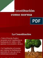 La Constitucion Como Norma