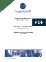 Missouri Pension Fund Annual Report