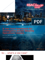 A Use Case Framework for Intelligence Driven Security Operations Centers Fri