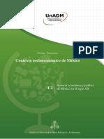 Unidad2.HistoriaeconomicaypoliticadeMexicoenelsigloXX