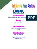 Tarea 4 Didactica Especial de Las Ciencias Sociales
