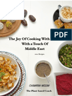 The Joy of Cooking With Plants With a Touch of Middle East 100 Recipes - Chamiran Nissan