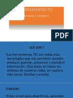 Presentacion Herramientas Tic