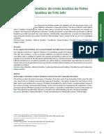 1. LEITURA COMPLEMENTAR. as Origens Da Bioética - Potter e Jahr