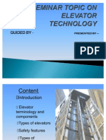 A Seminar Topic on Elevator Technology