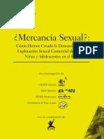 IDEIF, CODENI, REDES y Movimiento El Pozo (2005) - Mercnacía Sexual. Cómo Hemos Creado Demanda Para La ESCNNA en El Perú 2