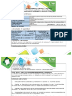 Guía de actividades y rubrica de evaluación- Fase 2. caracterizar residuos sólidos y construir compostador casero