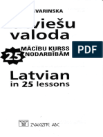 Svarinska, Asja - Latvian in 25 Lessons