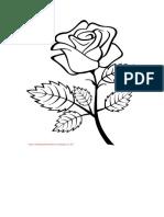 warnai mawar