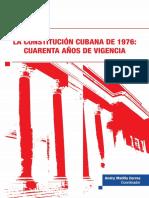 2016 - Matilla Correa Andry -La Constitución Cubana de 1976