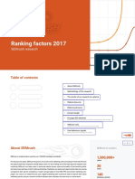 SEMrush-Ranking Factors 2017