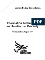 Information Technology and Intellectual Property Consultation Paper