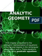 Analytic Geometry IIIA