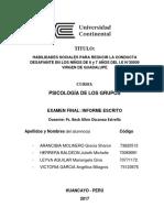 Informe Final Psi. de Los Grupos