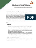 Maestrias Doctorados 2017 Economía