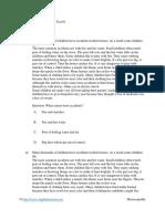 English Grade 9 - Reading Test 01.pdf