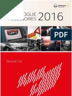 Catalogue Accessoires Renault 2016