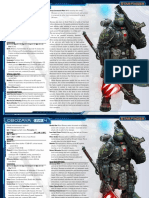 Starfinder Pre-Gen Soldier - All Levels