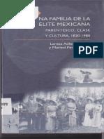 4Larissa Adler Lomnitz_Una Familia de La Elite Mexicana