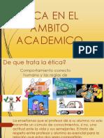 Etica en El Ambito Escolar