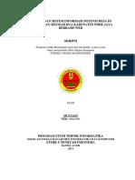 Rancangan Sistem Informasi Potensi Desa Di Kecamatan Meurah Dua Kabupaten Pidie Jaya Berbasis Web