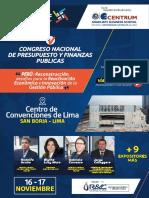 """""""V Congreso Nacional de Presupuesto y Finanzas Públicas – CONAPREF PERÚ 2017"""