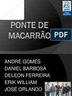 Slides - PIC 2014 - Ponte de Macarrão