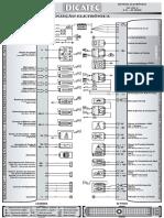 Esquema Focus 1.6 Rocam Fic-eec v 60 Pinos