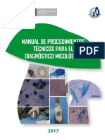 Manual de Procedimientos Tecnicos Para El Diagnostico Micologico.final