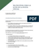 Comentarios a La Reforma Procesal Dr Alonso Cuevillas