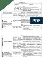 Matriz de Cometencias Capacidades Indicadores Cbmi