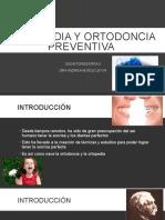 Ortopedia y Ortodoncia Preventiva