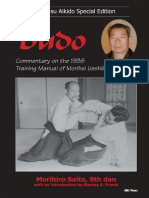 Morihiro Saito - Takemusu Aikido Special Edition Budo (Commentary on the 1938 Training Manual of Morihei Ueshiba) (Vol. 6) - 1999