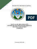 Manual de Organizacion Cedesyd Version Final