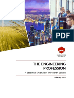The Engineering Profession - A Statistical Overview, 13th Edition 2017